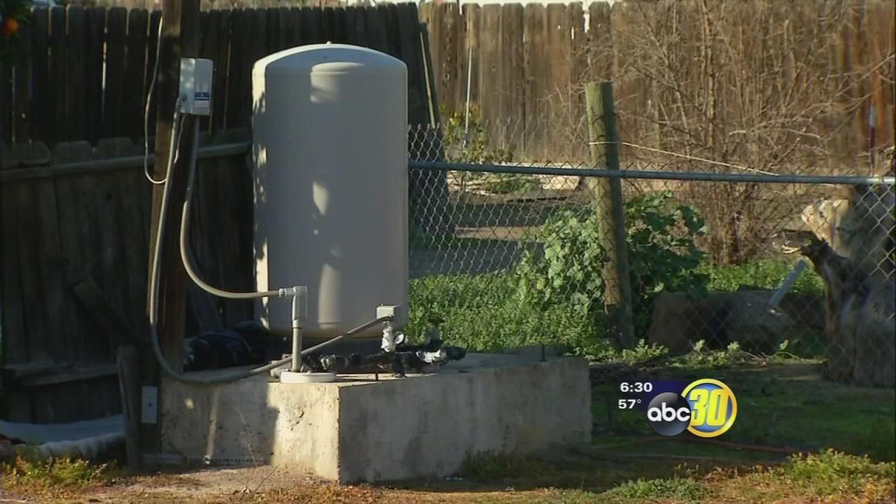 Some east Porterville residents finding water from wells undrinkable