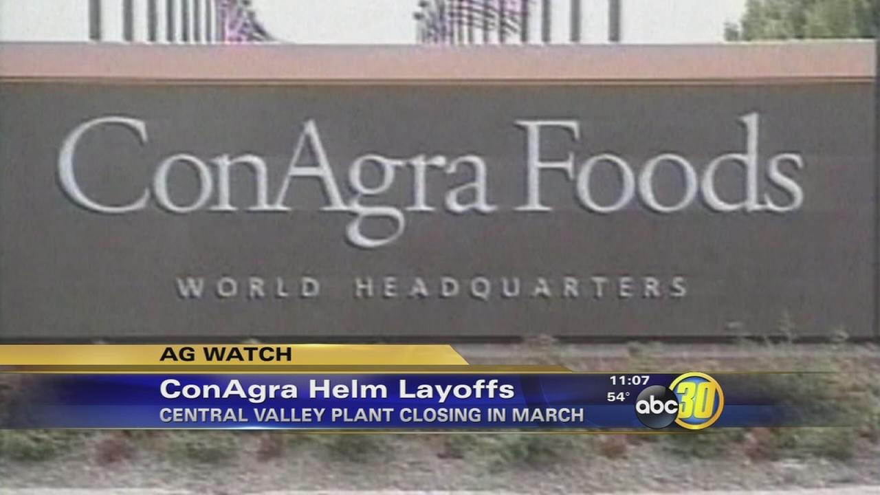 ConAgra foods to close Fresno County tomato paste plant next month