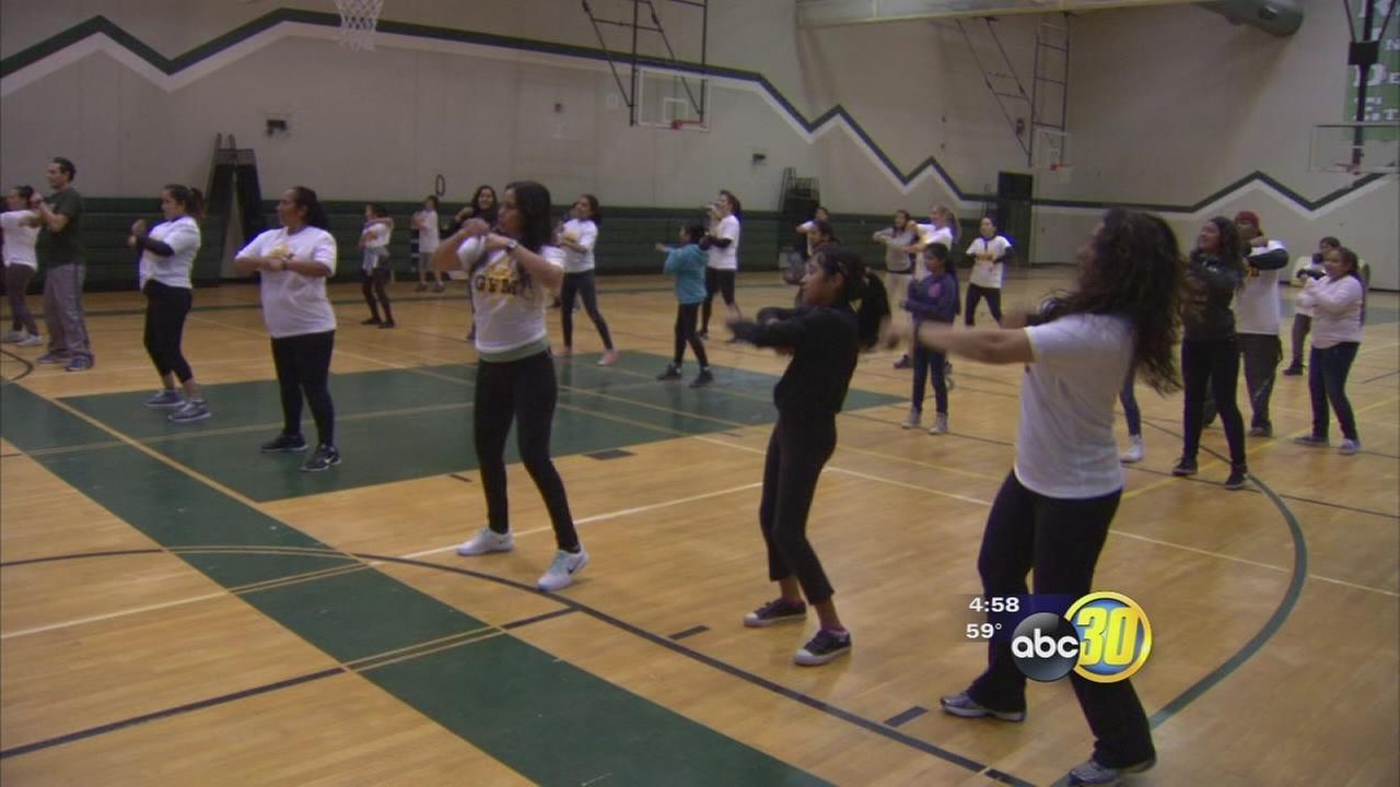 Southwest Fresno school providing a free and fun gym from families to enjoy