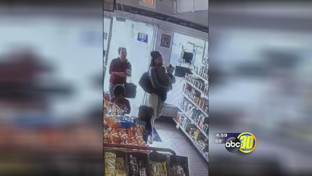 Fresno police are looking for two women who tried to cash fake checks