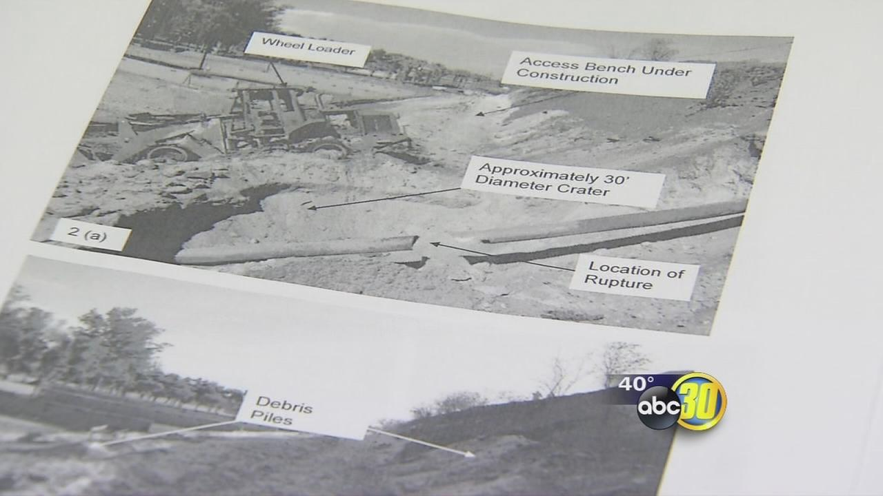 Investigation done by CPUC finds Fresno County at fault for pipeline explosion
