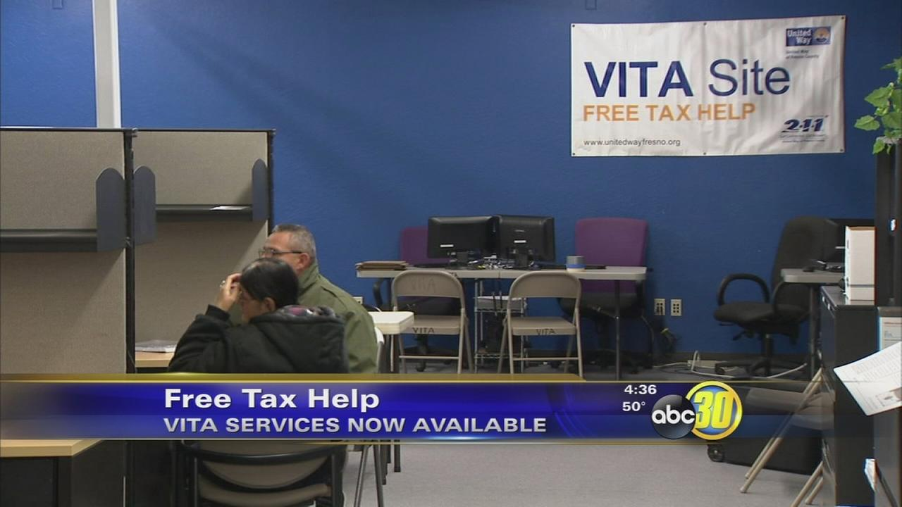 Free tax preparation services for Fresno and Madera County families