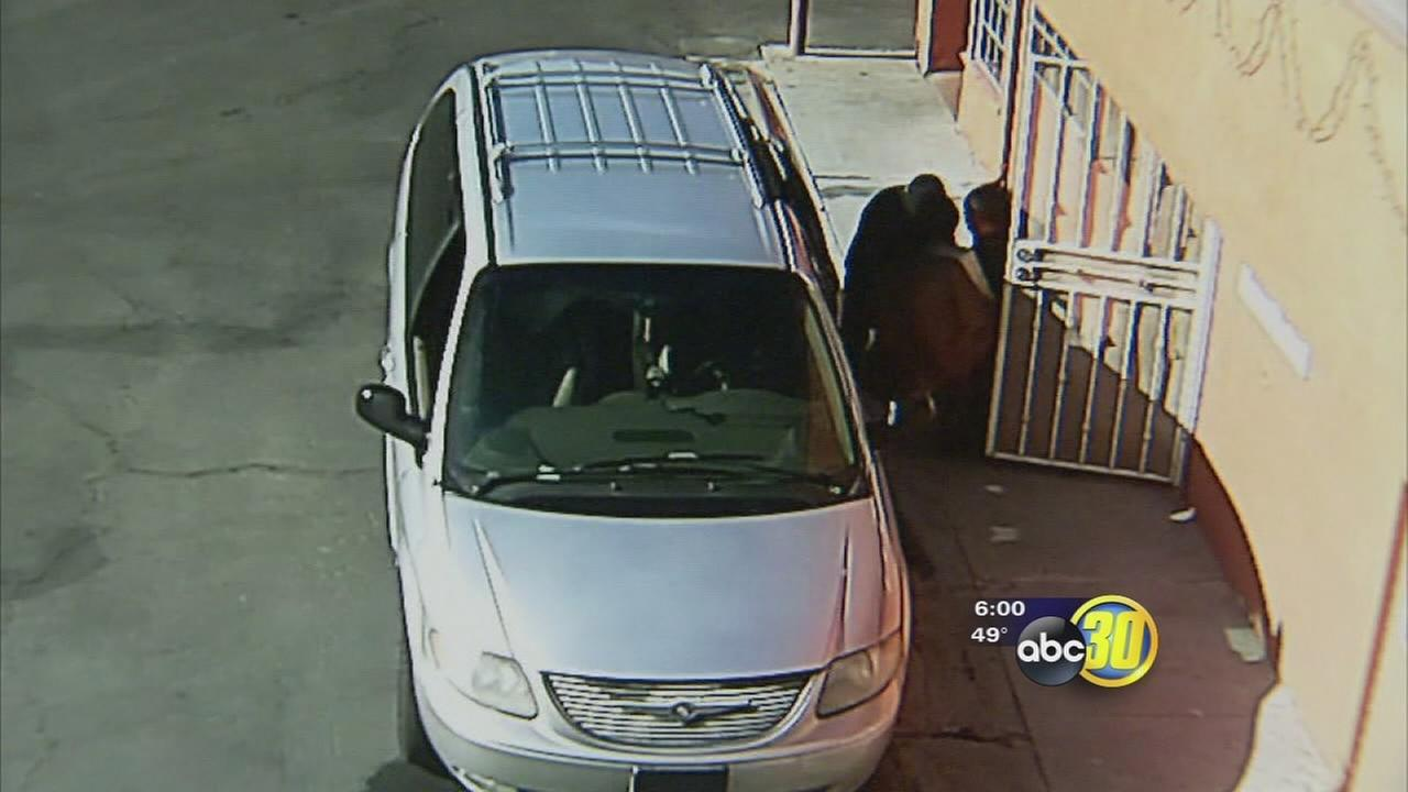 A Los Banos motel owner is asking for the publics help to find thieves who stole their safe