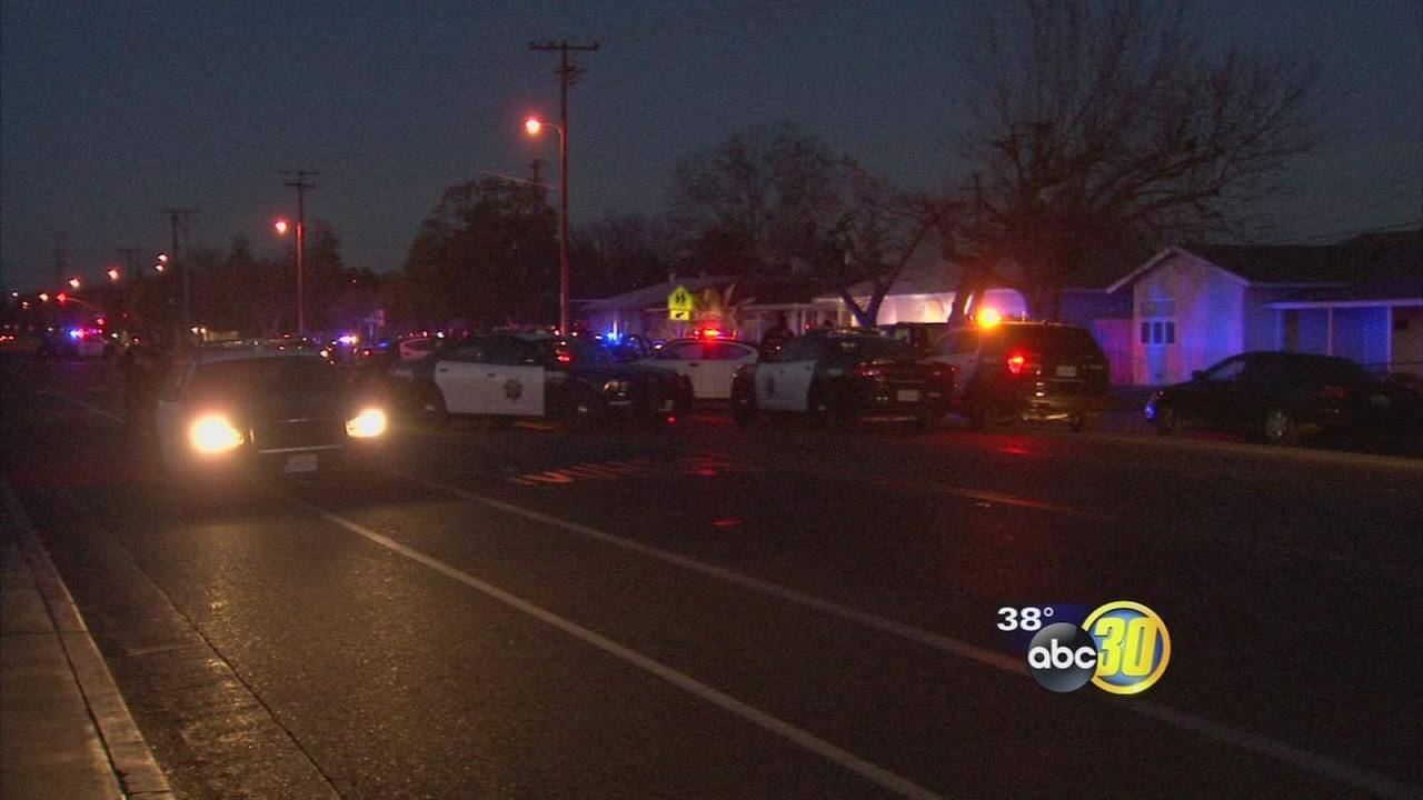 Fresno police arrest wanted carjacker after two hour standoff