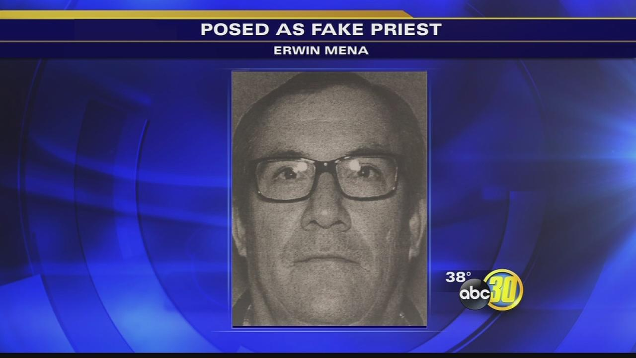 Alleged phony priest arrested for pope-trip swindle