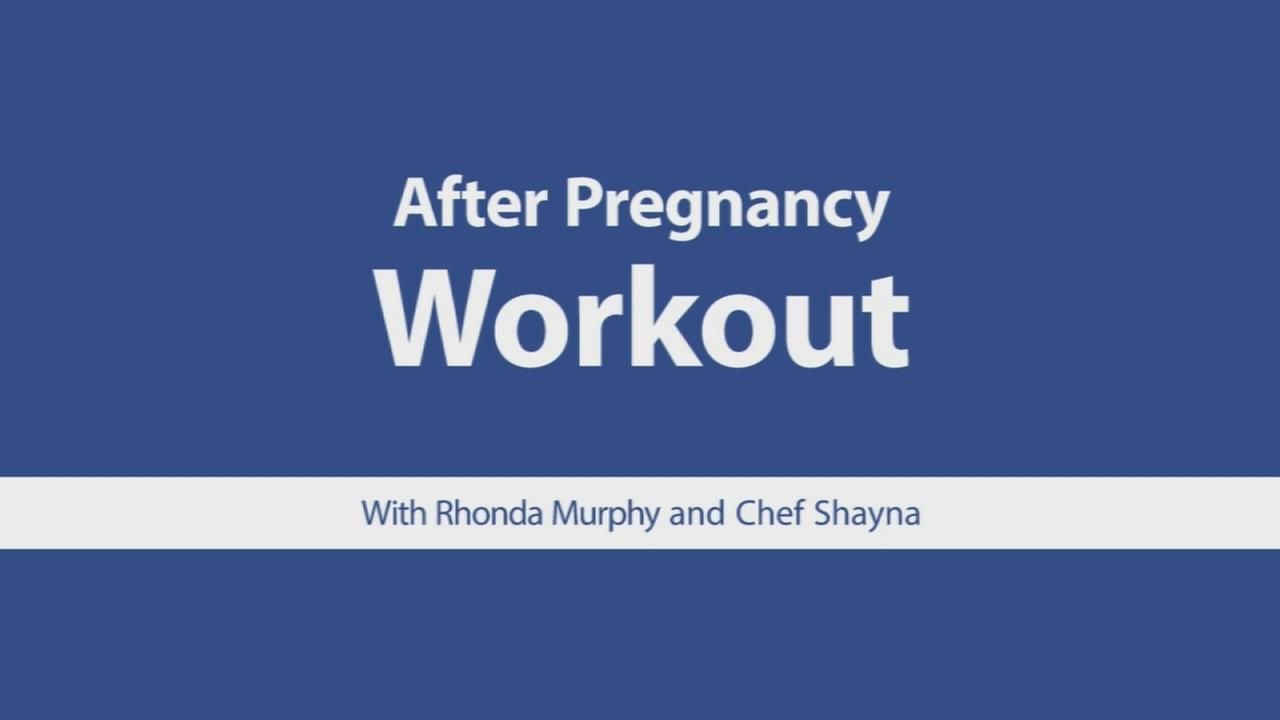 Get your body on track after pregnancy