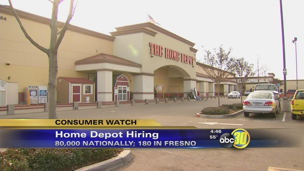 Home Depot hiring thousands of seasonal workers