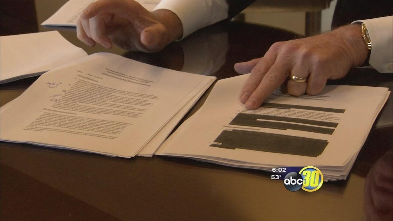 Fresno County releases redacted report on Seth Irelands death