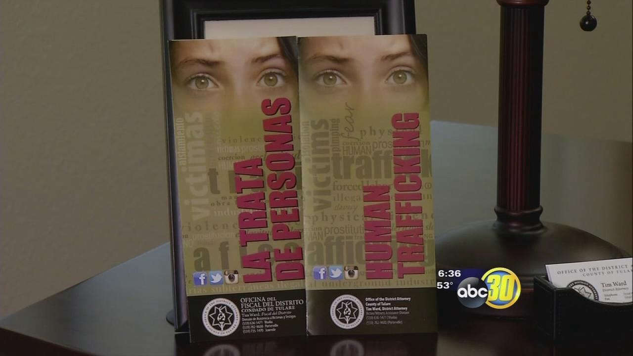 Tulare County DA starting a conversation about human trafficking with new AD