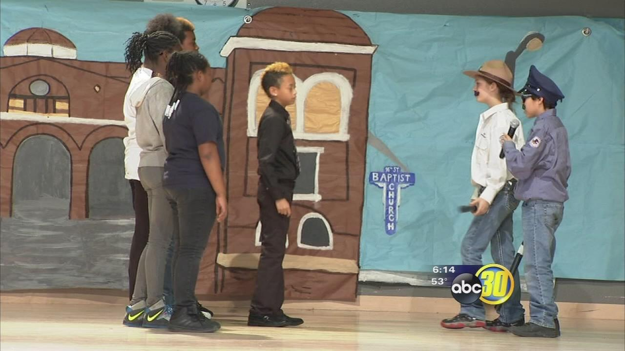 Fresno middle school marks Black History Month by using the arts