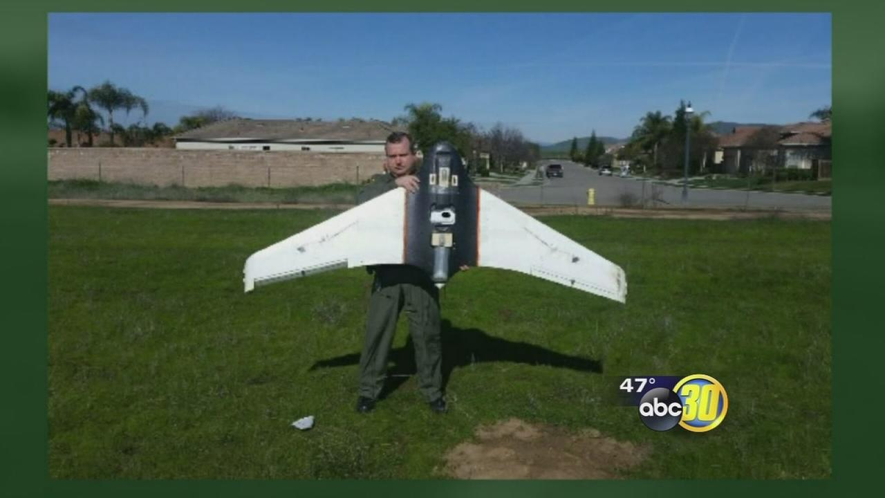 Fresno County sheriffs helicopter has near miss with drone