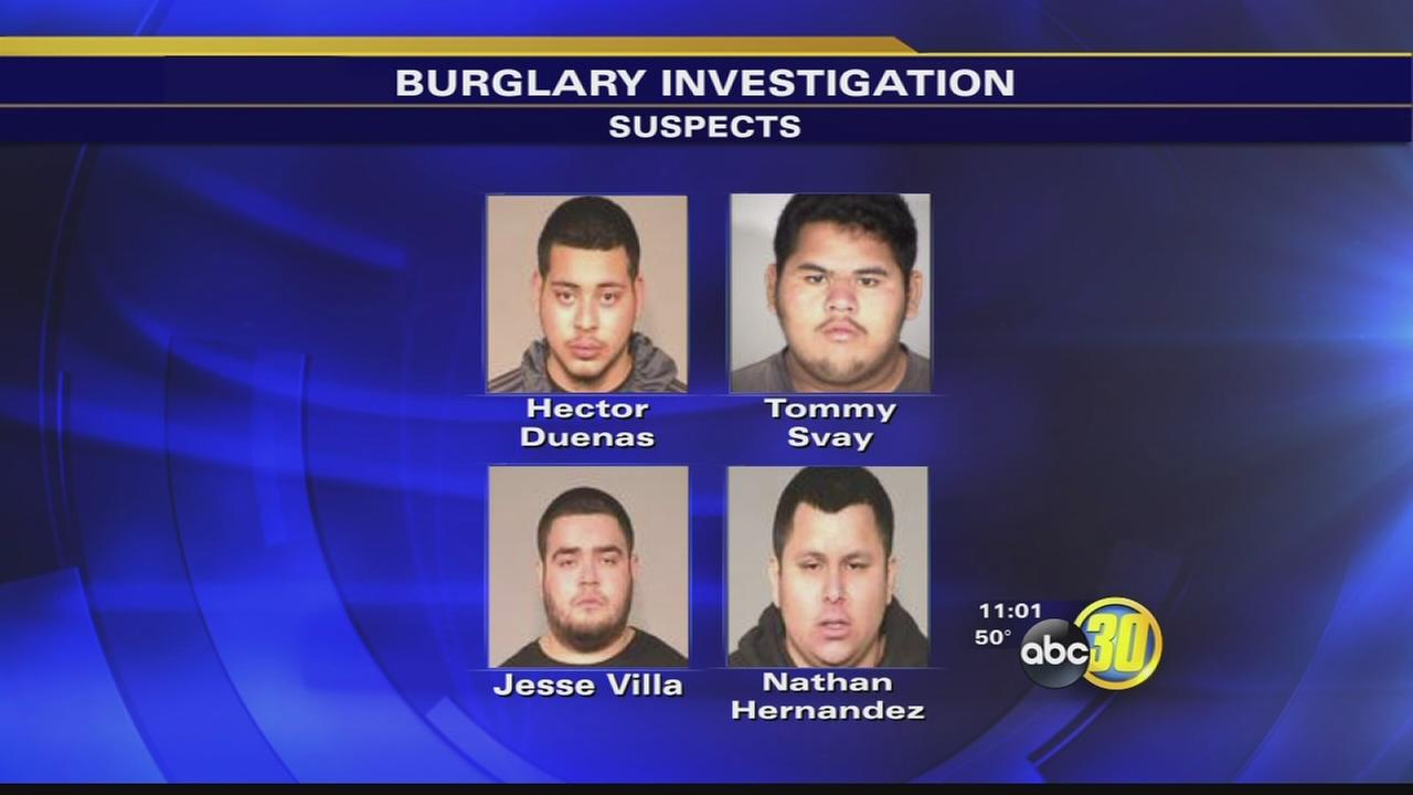 4 arrested after Central Fresno business robbery