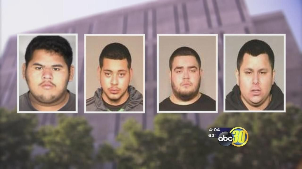5 gangmembers arrested after overnight burglary