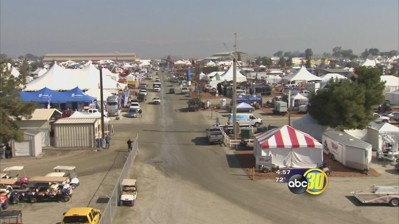 Preparations being for World Ag Expo opening day