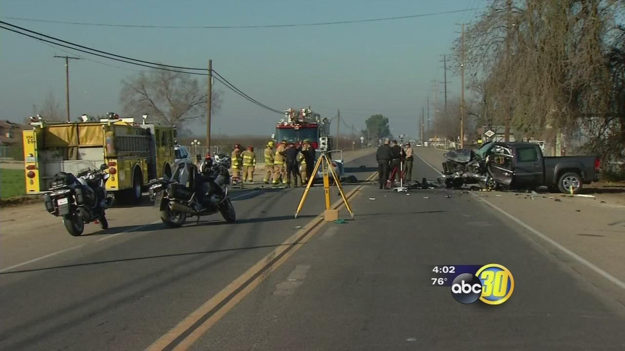 Second victim of deadly crash in Visalia identified