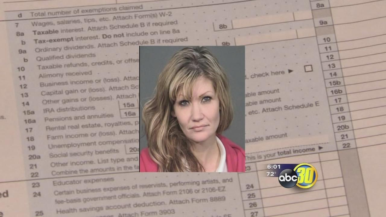 Action News confronts identity theft tax fraud suspect
