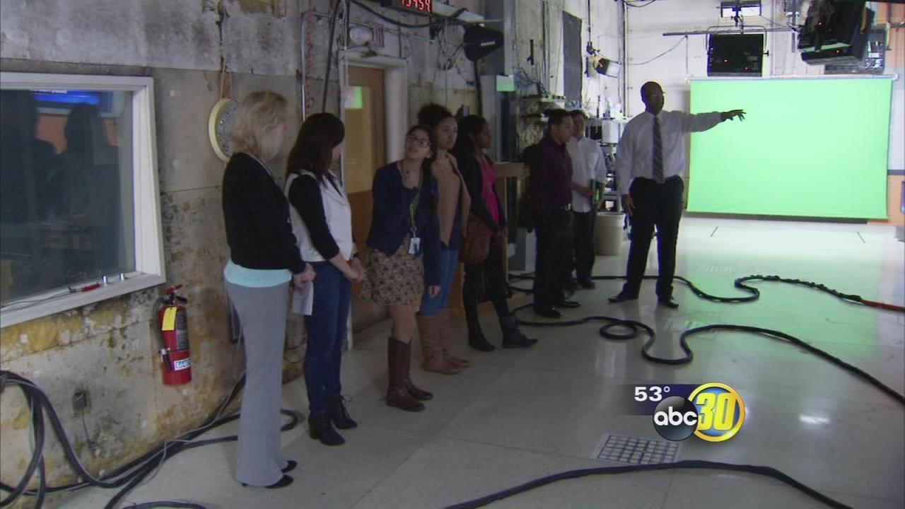 Local students get behind the scenes look at Action News