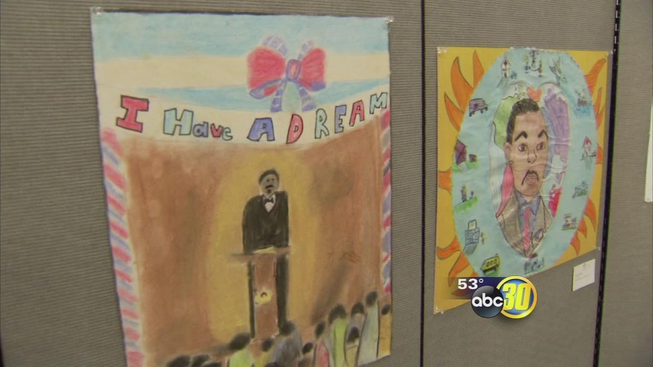 Fresno County students present art, essays, and speeches at annual MLK Jr. reception