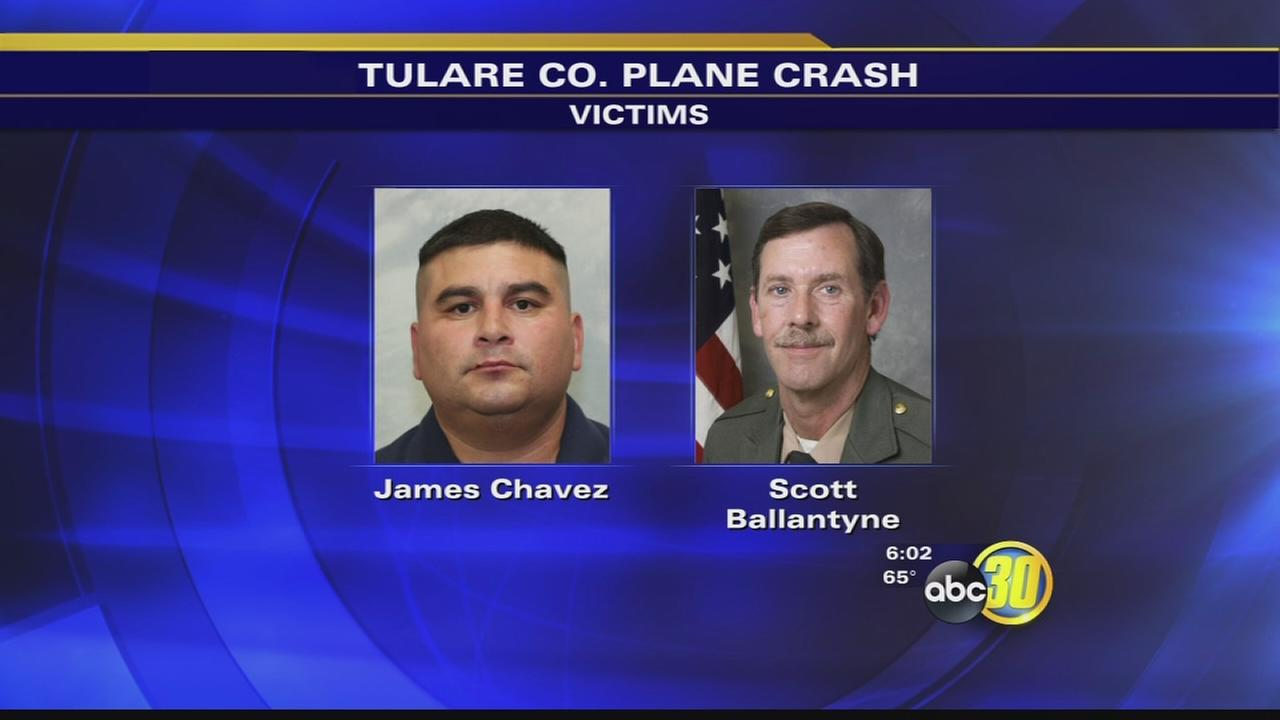 Funeral plans set for Tulare County Sheriffs deputy and pilot killed in plane crash