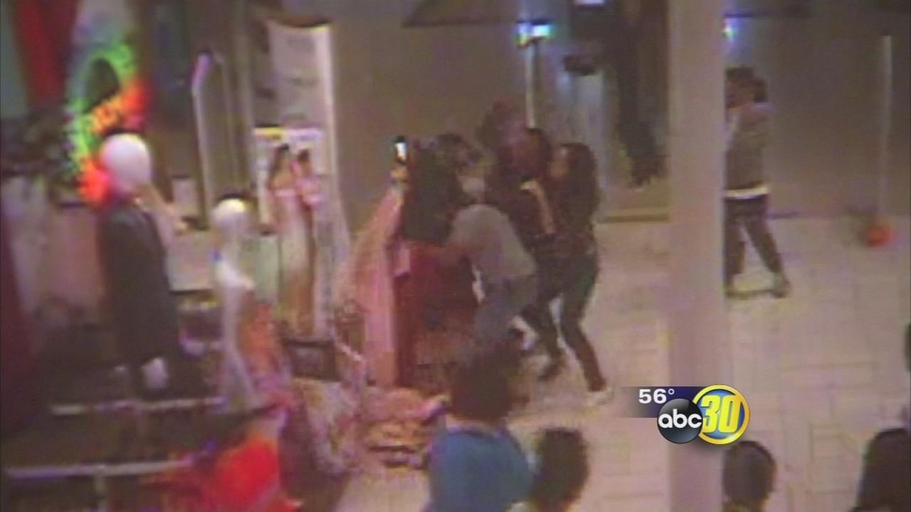 shoplifters caught on camera assaulting j c penney employee in shoplifters caught on camera assaulting j c penney employee in fresno com