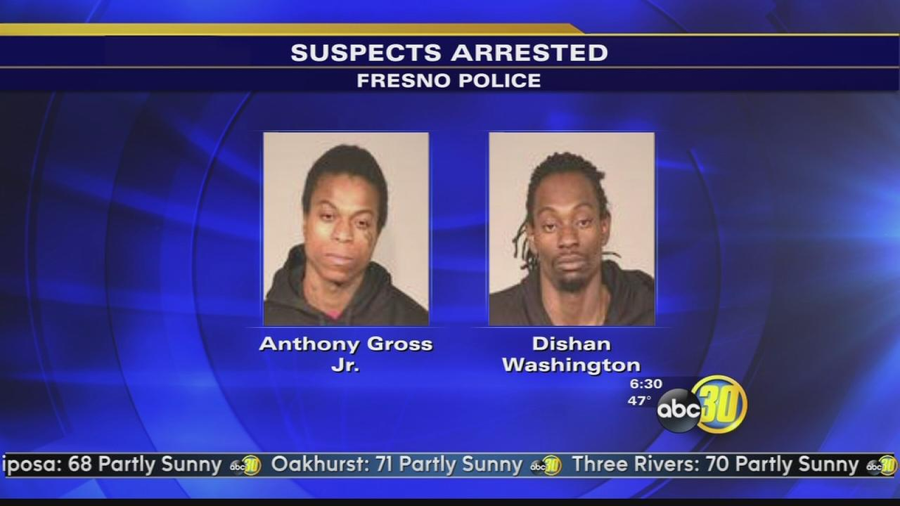 2 arrested after high speed chase in Fresno