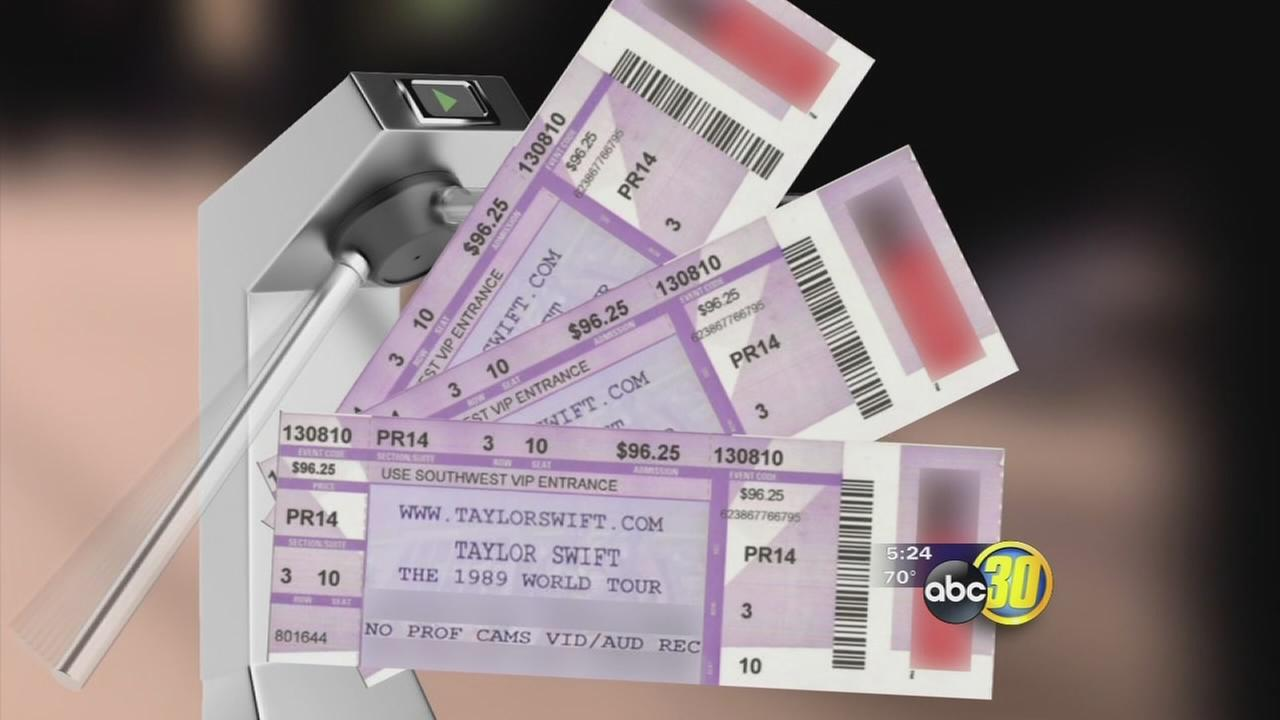 Safe from Scams: Online counterfeit concert tickets