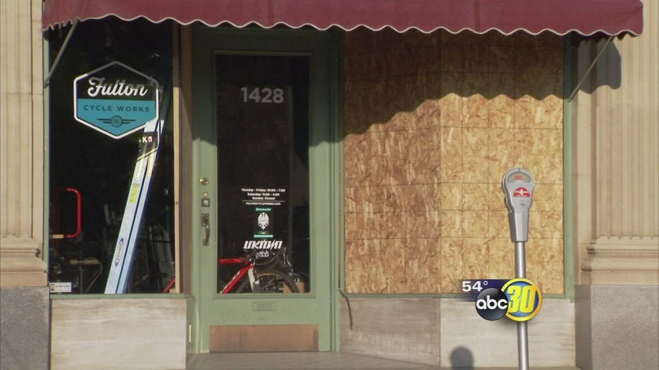 Thieves strike Downtown Fresno bike shop for the second time