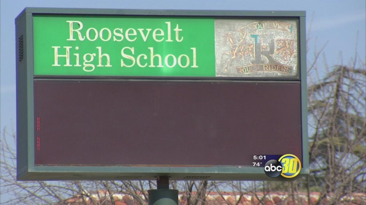 Gas valve leak prompts partial evacuation at Roosevelt High School