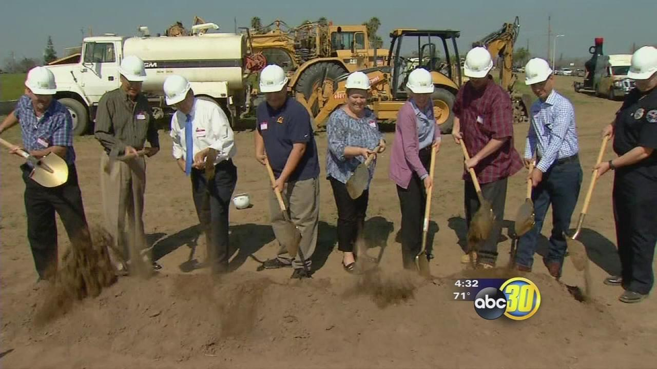 Farmersville breaks ground for new sports park