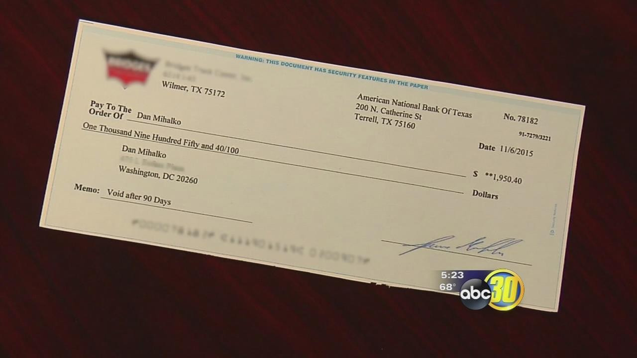 Safe from Scams: Bad checks and online buying
