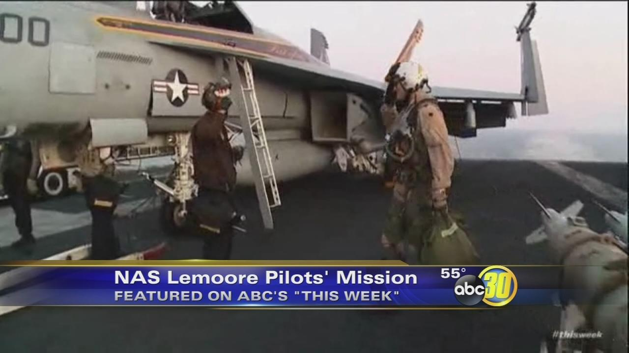 Show features Lemoore-based Navy pilots mission against ISIS