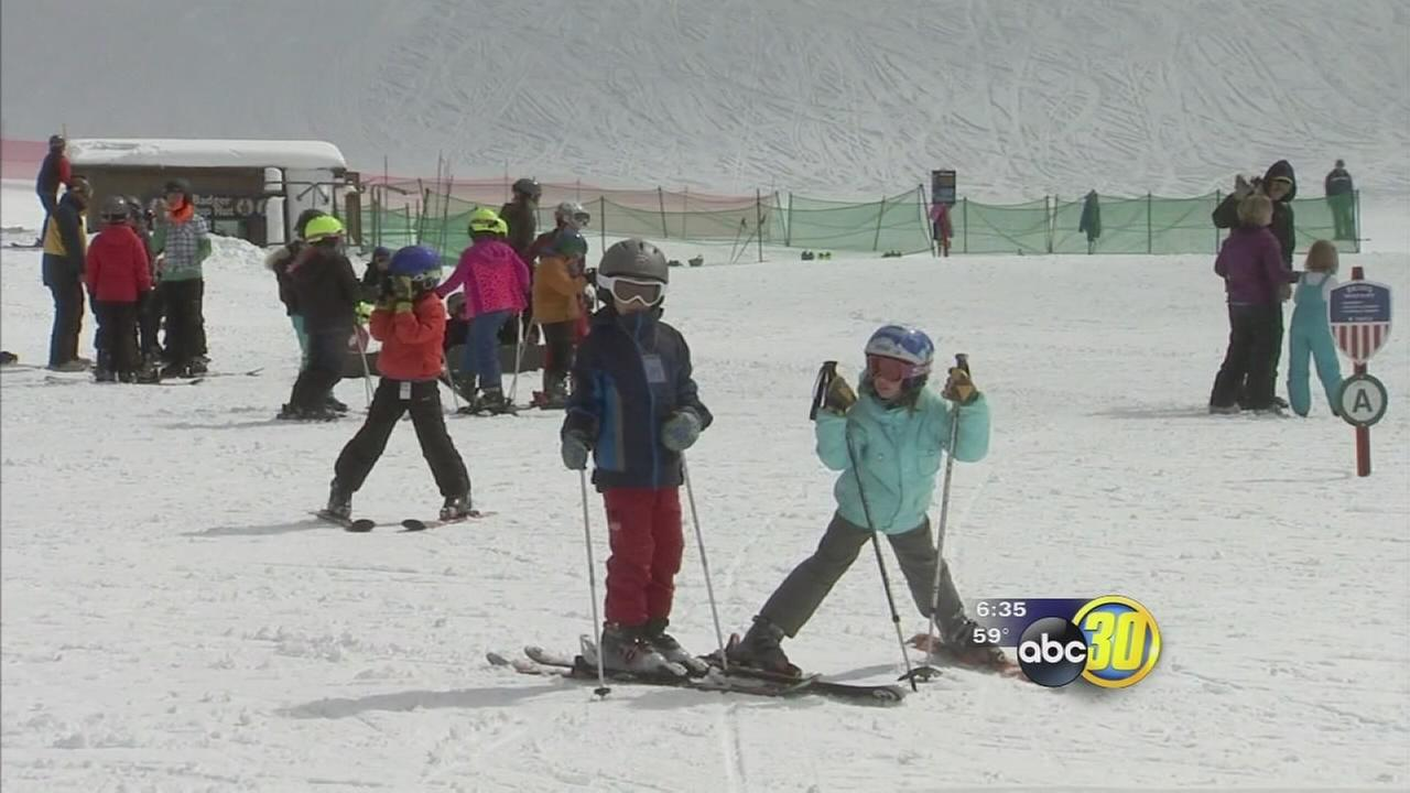 Recent storms give Yosemite a boost with several inches of fresh snow