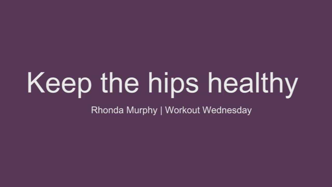 Keep the hips healthy