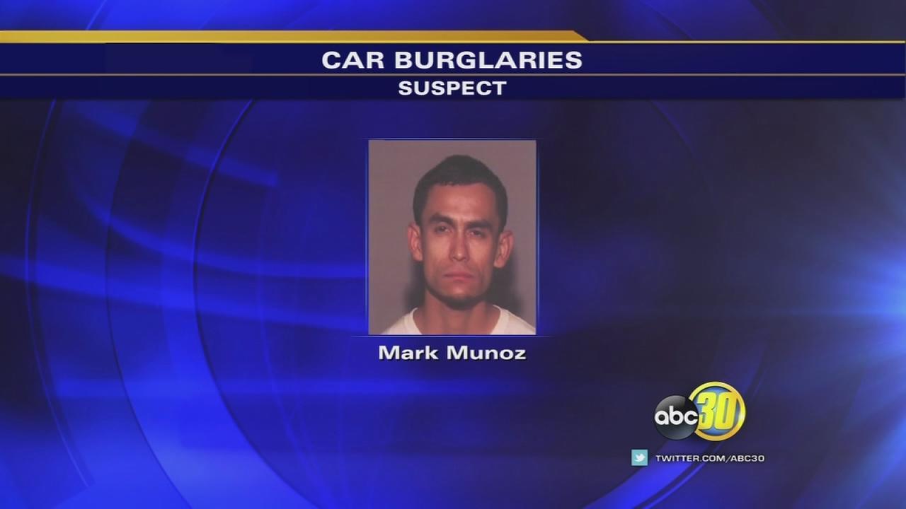 Fresno police catch serial car burglar