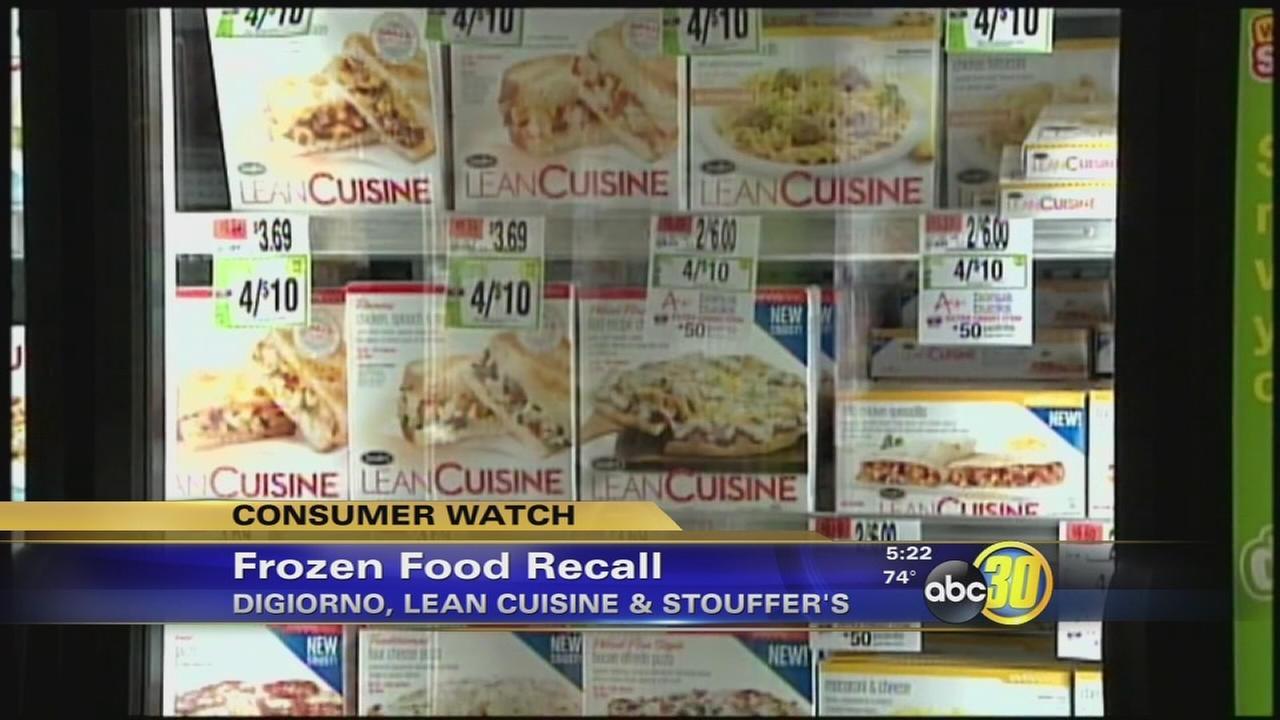Nestle recalls 3-million boxes of frozen meals