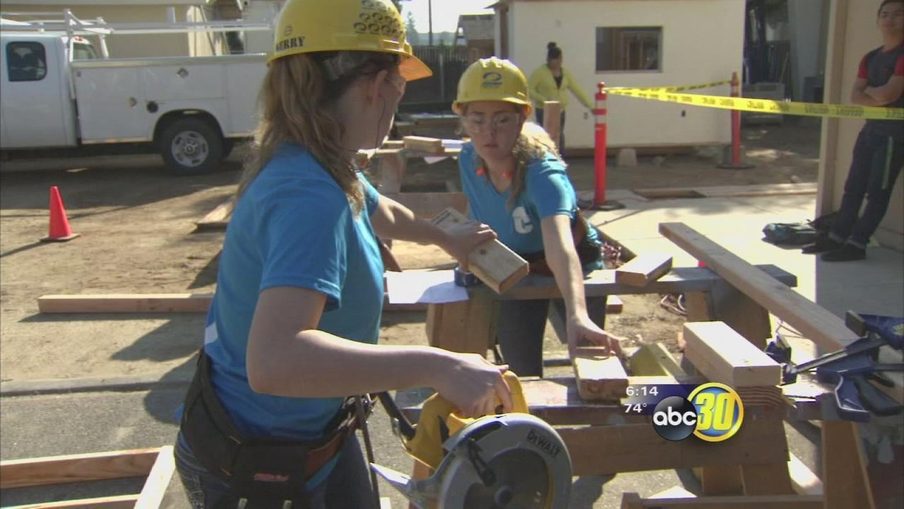More Fresno students are learning career skills as technical education continues to grow