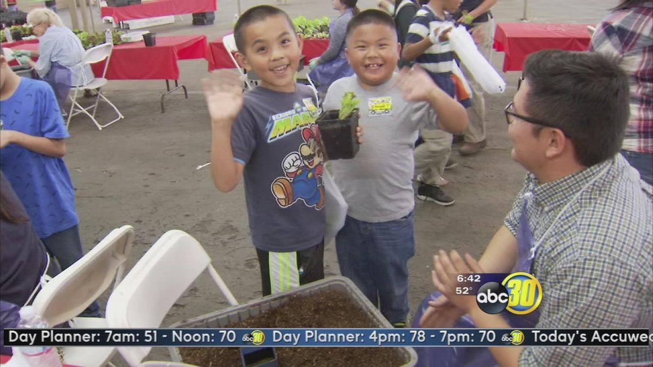 Farm and Nutrition Day at the Fresno Fairgrounds