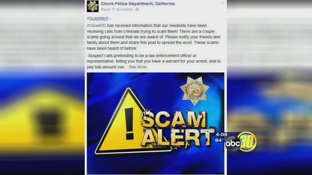 Officials warning of IRS phone call scam