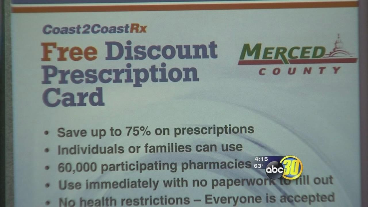 New prescription card gives Merced County residents a new way to save money