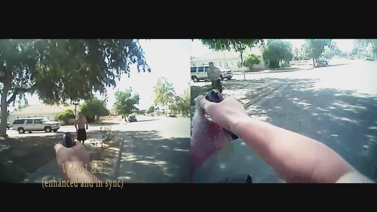 Body cam footage: Freddy Centeno shot by Fresno Police