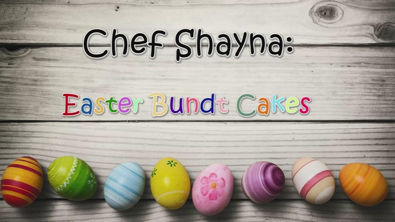 Chef Shayna: Easter Bundt Cakes