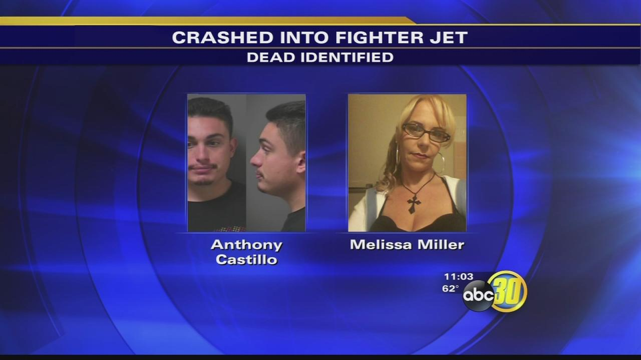 2 killed after crashing into a F/A-18 fighter jet identified