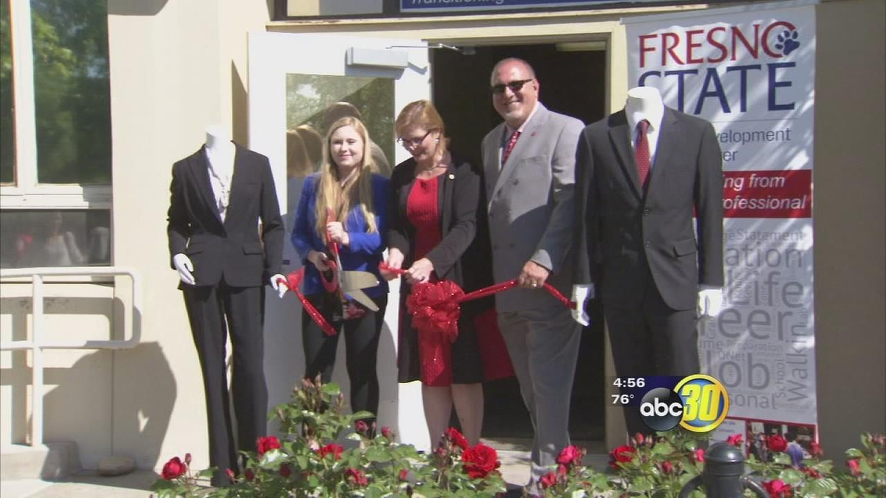 Fresno State students get access to professional clothing