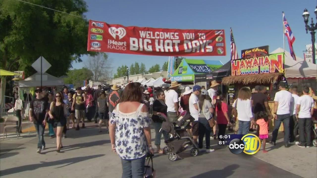 Big Hat Days draw thousands to Clovis