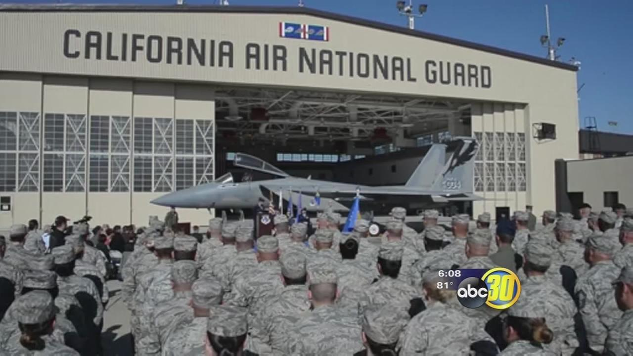 Air National Guard Fighter Wing in Fresno receives new commander
