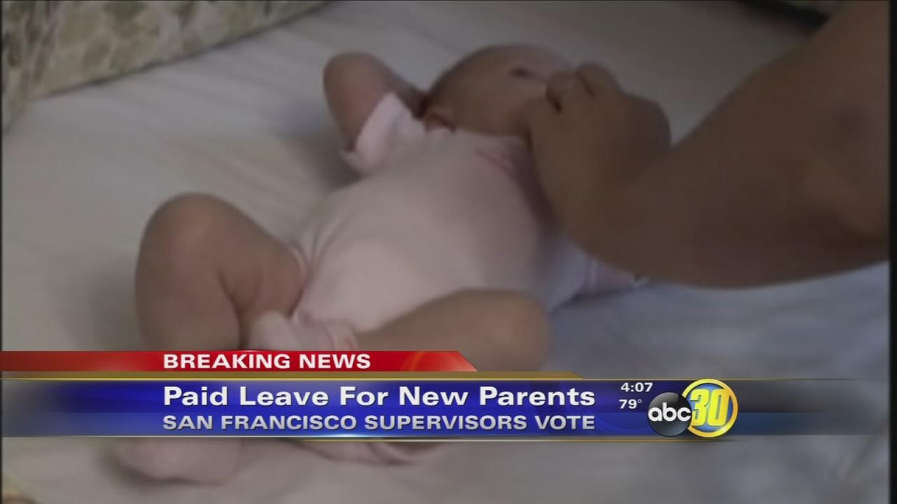San Francisco approves fully paid leave for new parents