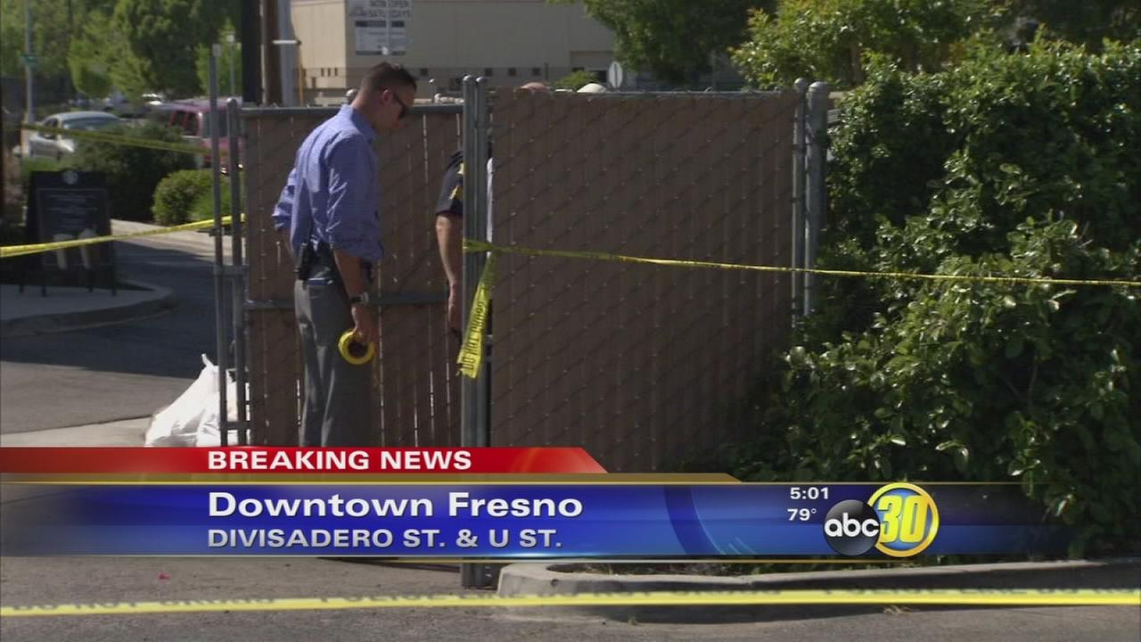 Body found near Starbucks in Downtown Fresno