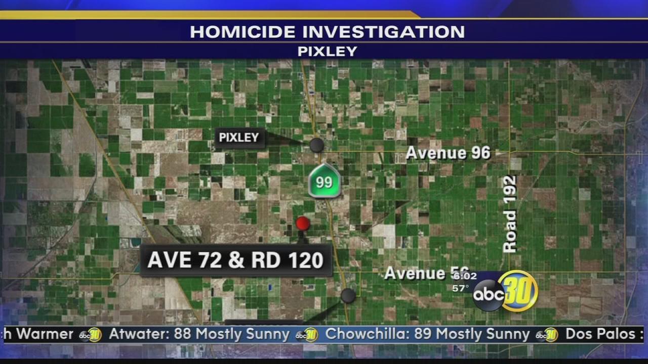Man found shot in the head in Pixley