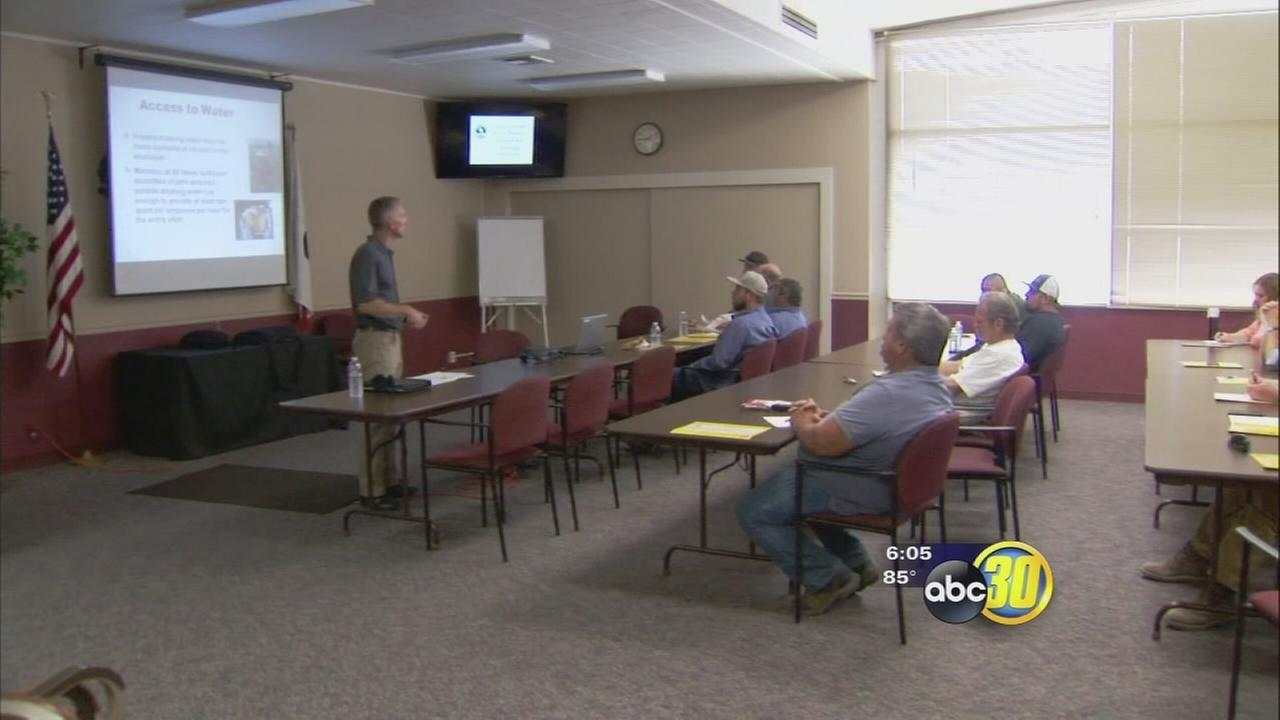 Tulare County Farm Bureau holds discussion on heat related illnesses
