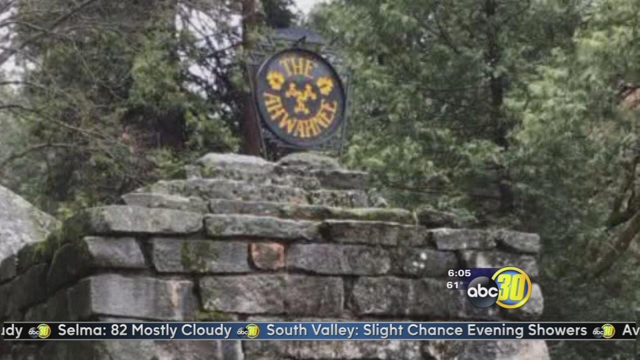 Yosemite offers reward for stolen Ahwahnee Hotel sign